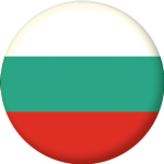 Bulgaria Country Flag 58mm Button Badge